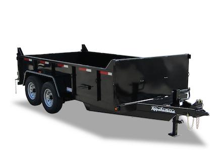 Appalachian Special low profile dump trailer