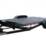 Hydraulic tilt car trailer