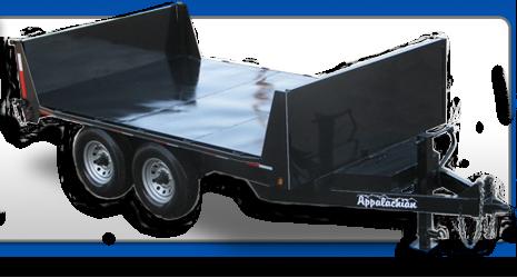 Contractor Grade Flatbed Dump Trailer