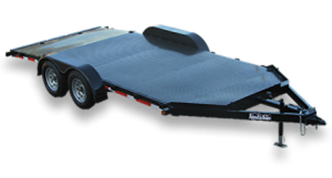 Diamond Floor Standard Duty Car Trailers