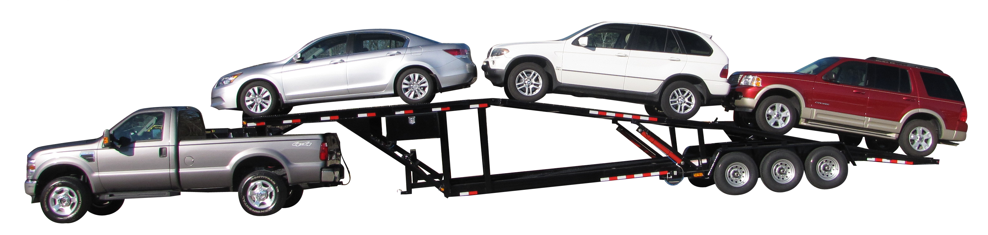 Four Car Trailer For Sale By Appalachian Trailers Call Today