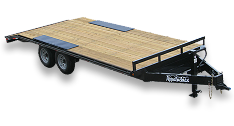 standard duty flatbed equipment trailers