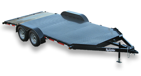 Diamond Floor Light Duty Car Trailer
