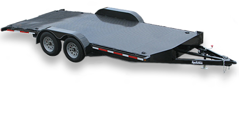 Car Trailers in One, Two, Three, and Four Car Capacities by Appalachian!