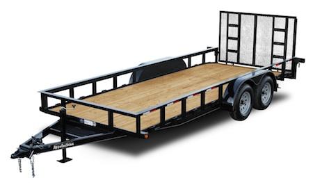 standard duty utility trailers
