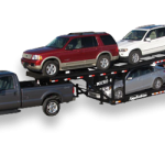 four car trailer