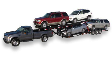 Car Trailers In One Two Three And Four Car Capacities By Appalachian