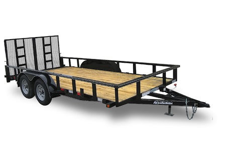 Tandem Axle Contractor Grade Utility Trailers by Appalachian