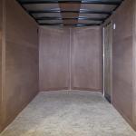 interior of trailer