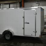 light duty white trailer