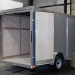 rear of trailer