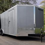 Tandem Axle Loaded Car Trailer