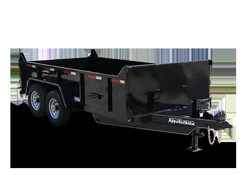 utility, dump, gooseneck, equipment, & car trailers  www.appalachiantrailers.com