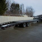 step deck car trailer appalachian